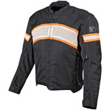 Speed and Strength Cruise Missile Textile-Leather Motorcycle Jacket