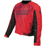 Speed and Strength Run With The Bulls Mesh Motorcycle Jacket
