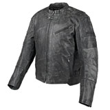 Speed and Strength Speed Shop Leather Motorcycle Jacket