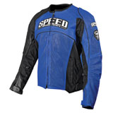 Speed and Strength Top Dead Center Leather Motorcycle Jacket