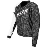 Speed and Strength Lunatic Fringe Armored Mesh Motorcycle Jersey
