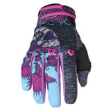Speed and Strength Wicked Garden Ladies Motorcycle Gloves