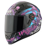 Speed and Strength SS1300 Wicked Garden Ladies Motorcycle Helmet