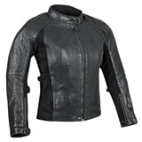 Speed and Strength Speed Society Ladies Leather Motorcycle Jacket