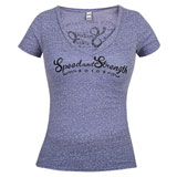 Speed and Strength Women's Smokin Aces V-Neck T-Shirt