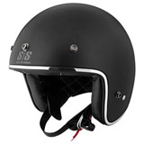 Speed and Strength SS600 Back In Black Open-Face Helmet