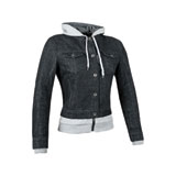 Speed and Strength Women's Fast Times Hooded Denim Jacket
