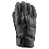 Speed and Strength Black Heart Ladies Motorcycle Gloves