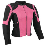 Speed and Strength Comin' In Hot Ladies Textile Motorcycle Jacket