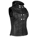 Speed and Strength Women's Hell's Belles Leather Vest