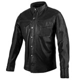 Speed and Strength KillSwitch Leather Moto Shirt