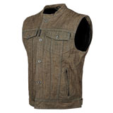 Speed and Strength Soul Shaker Denim Motorcycle Vest