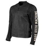 Speed and Strength Rage With The Machine Leather-Denim Jacket