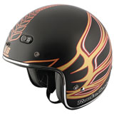 Speed and Strength SS600 Rooke Customs Open-Face Motorcycle Helmet
