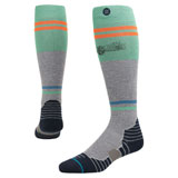 Stance Fusion Pinnacle Series Moto Socks Golden Era Grey