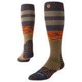 Stance Tall Moto Socks Journeyman Olive