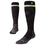 Stance Tall Moto Socks Techtonic Black