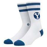 Stance Classic Crew Socks BYU Cougars
