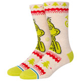 Stance Classic Crew Socks Grinch Sweater
