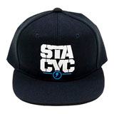 STACYC Youth Snapback Hat Black