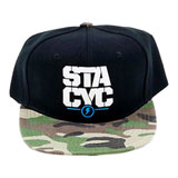 STACYC Youth Snapback Hat Camo