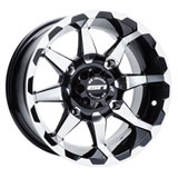 STI HD6 Alloy Wheel Machined/Black