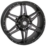 STI HD7 Alloy Wheel Matte Black/Smoke