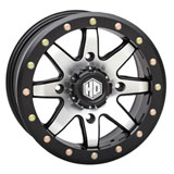 STI HD9 Beadlock Wheel Matte Black/Machined