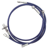 Streamline Front Steel Braided Brake Line