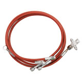 Streamline Rear Steel Braided Brake Line