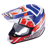 Suomy MX Jump Special Helmet Red/White/Blue