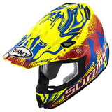 Suomy MX Jump Graffiti Helmet Red/Yellow