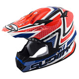 Suomy Rumble Snake Helmet Red