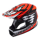 Suomy Rumble Strokes Helmet Red