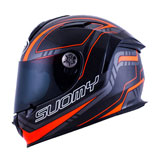 Suomy SR Sport Motorcycle Helmet Carbon/Red