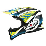 Suomy Alpha Helmet Waves Yellow/White