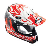 Suomy MX Jump Graffiti Helmet White/Red