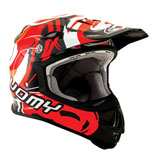 Suomy MX Jump Vortex Helmet Red
