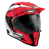 Suomy MX Tourer Helmet Desert Red