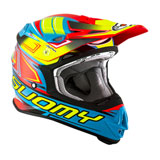 Suomy MX Jump Start Helmet Cyan/Fuxia
