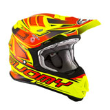 Suomy MX Jump Start Helmet Yellow/Red