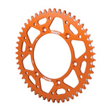 Supersprox Rear Aluminum Sprocket Orange