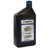 Suzuki Performance 4-Cycle Motorcycle Engine Oil