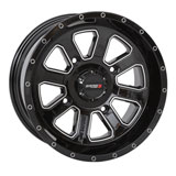 System 3 Off-Road ST-4 Wheel Black/Machined
