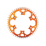 Talon Rear Alloy Sprocket Orange