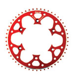 Talon Rear Alloy Sprocket Red
