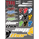 Motorcycle Riding Gear Stickers-Decals