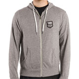 Thor Checkered Zip-Up Hooded Sweatshirt