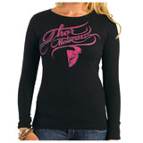 Thor Curly-Q Ladies Long Sleeve Thermal T-Shirt