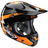Thor Verge Rebound Helmet Flo Orange/Black